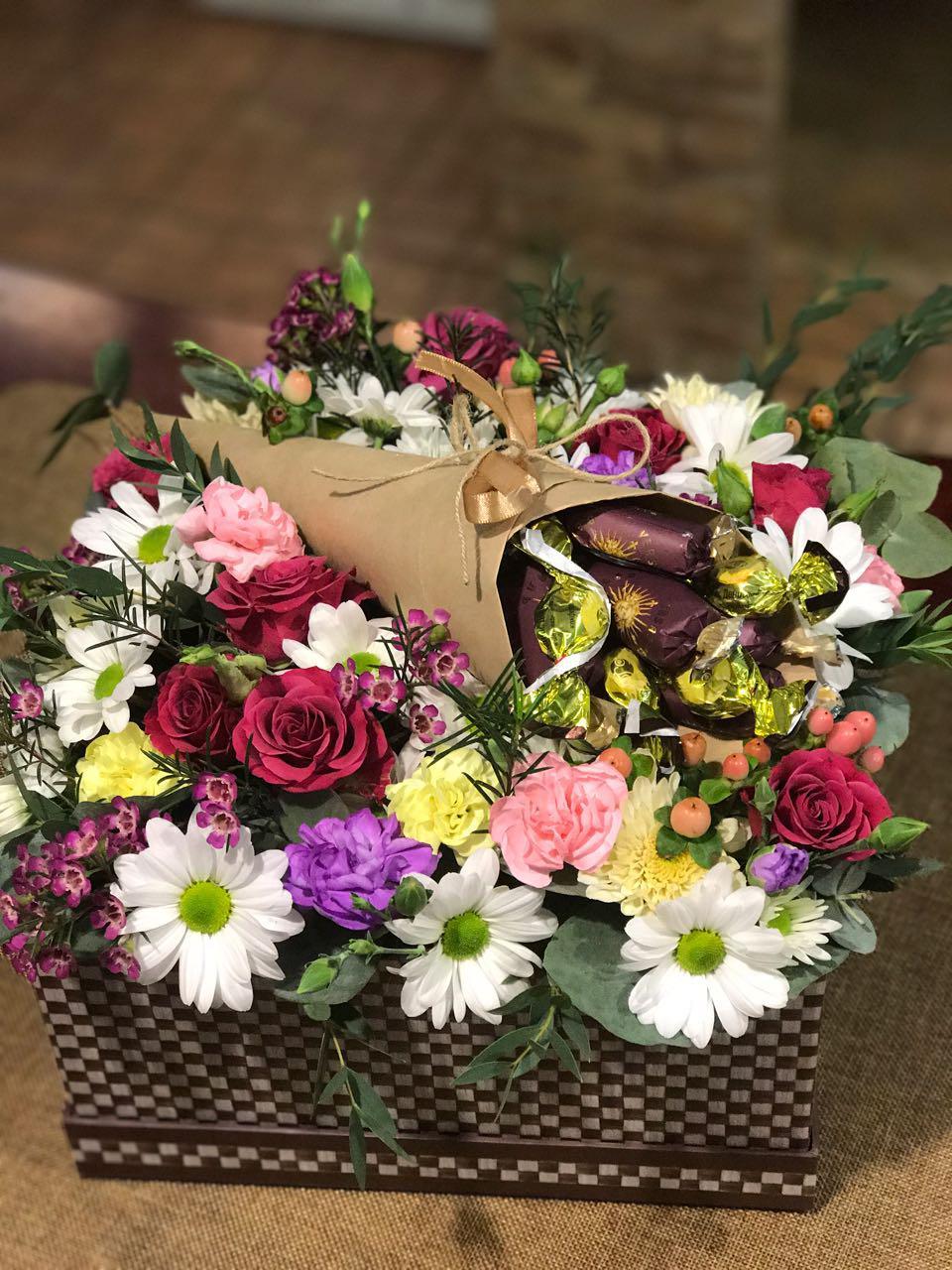 Букет цветов в новосибирске с доставкой киев, пионы заказ ромашки