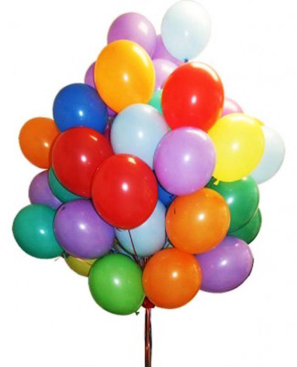 гелиевый шарик с рисунком
